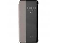 Husa Piele Baseus Smart View pentru Huawei P30 Pro, Kaki, Blister LTHWP30P-YP11