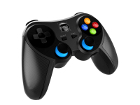Gamepad Bluetooth cu suport telefon iPega 9157, compatibil IOS/Android/PC/Smart TV, Negru Blister Original
