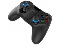 Gamepad Bluetooth cu suport telefon iPega 9129 Damon Z, compatibil IOS/Android/PC/Smart TV, Negru Blister Original