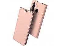 Husa Piele DUX DUCIS Skin Pro pentru Huawei P30 lite, Roz, Blister