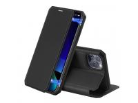 Husa Piele DUX DUCIS Skin X pentru Apple iPhone 11 Pro Max, Neagra, Blister