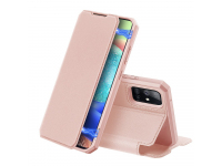 Husa Piele DUX DUCIS Skin X pentru Samsung Galaxy A71 5G A716, Roz, Blister
