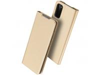 Husa Poliuretan DUX DUCIS Skin Pro pentru Samsung Galaxy S20 G980 / Samsung Galaxy S20 5G G981, Aurie, Blister