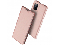 Husa Piele DUX DUCIS Skin Pro pentru Samsung Galaxy A51 5G A516, Roz, Blister