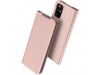 Husa Piele DUX DUCIS Skin Pro pentru Samsung Galaxy S20 Plus G985, Roz, Blister