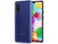 Husa TPU Spigen Liquid Crystal pentru Samsung Galaxy A41, Transparenta, Blister ACS00876