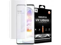 Folie Protectie Ecran Mocolo pentru LG Velvet, Sticla securizata, Full Face, Full Glue, UV Glass, Blister