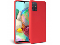 Husa TPU Tech-Protect ICON pentru Samsung Galaxy A31, Rosie, Blister