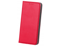 Husa Piele OEM Smart Magnetic pentru Huawei P30 lite, Rosie, Bulk