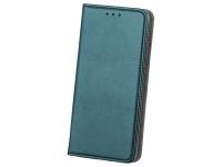 Husa Piele OEM Smart Magnetic pentru Samsung Galaxy A21s, Verde, Bulk