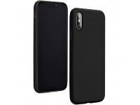 Husa TPU Forcell Silicone pentru Samsung Galaxy A21s, Neagra, Bulk
