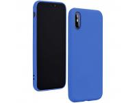 Husa TPU Forcell Silicone pentru Samsung Galaxy A41, Albastra, Bulk