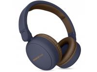 Handsfree Casti Bluetooth Energy Sistem Headphones 2, On-Ear, Cu Microfon, SinglePoint, Albastru, Blister ENS444885