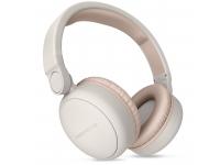Handsfree Casti Bluetooth Energy Sistem Headphones 2, On-Ear, Cu Microfon, SinglePoint, Bej, Blister ENS445622