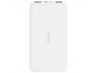 Baterie Externa Powerbank Xiaomi, 10000 mA, 2 x USB, Alba, Blister