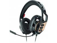 Casti Gaming Over-Ear Plantronics RIG 300, Negre Aurii, Blister