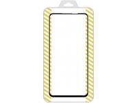 Folie Protectie Ecran OEM pentru Samsung Galaxy A21s, Sticla securizata, Full Face, Full Glue, 21D, Neagra