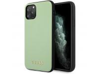 Husa Piele - TPU Guess pentru Apple iPhone 11 Pro Max, Verde, Blister GUHCN65PUMGR