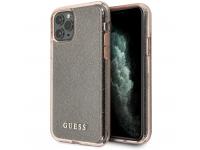 Husa TPU Guess Croco pentru Apple iPhone 11 Pro Max, Roz, Blister GUHCN65PCGLPI