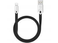 Cablu Date si Incarcare USB la Lightning McDodo Gorgeous CA-0551, 2.4A, 1 m, Negru, Blister