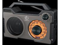 Boxa portabila Bluetooth Rebeltec RODOS, microSD, Neagra, Blister