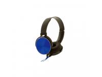Casti On-Ear Rebeltec Magico, Fara microfon, 3.5 mm, Albastru, Blister