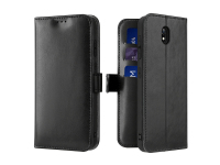 Husa Piele DUX DUCIS Kado Wallet pentru Xiaomi Redmi 8A, Neagra, Blister
