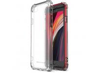 Husa TPU WZK Military Antisoc pentru Apple iPhone 7 / Apple iPhone 8 / Apple iPhone SE (2020), Transparenta, Blister
