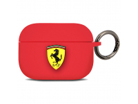 Husa TPU Ferrari pentru Apple Airpods Pro, Rosie FEACAPSILGLRE