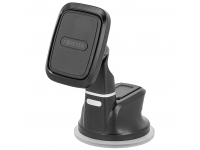 Suport Auto Universal Forever pentru Telefon, MH-220 Magnetic, Negru, Blister