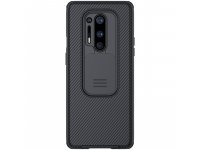 Husa Plastic - TPU Nillkin CamShield pentru OnePlus 8 Pro, Neagra, Blister