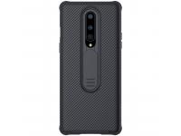 Husa Plastic - TPU Nillkin CamShield pentru OnePlus 8, Neagra, Blister