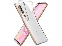 Husa TPU Spigen LIQUID CRYSTAL pentru Xiaomi Mi 10 5G / Xiaomi Mi 10 Pro 5G, Transparenta, Blister ACS00863