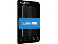 Folie Protectie Ecran BLUE Shield pentru Samsung Galaxy A21s, Sticla securizata, Full Face, Full Glue, 0.33mm, 9H, 2.5D, Neagra