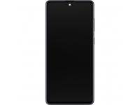 Display - Touchscreen Samsung Galaxy Note 10 Lite N770, Cu Rama, Negru GH82-22055A