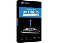 Folie Protectie Ecran BLUE Shield pentru Samsung Galaxy S10 G973, Sticla securizata, Full Face, Full Glue, 3D, UV, Blister