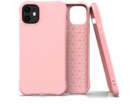Husa TPU OEM Soft Color pentru Apple iPhone 11, Roz, Bulk