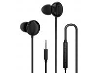 Handsfree Casti In-Ear Dudao X11Pro, Cu microfon, 3.5 mm, Negru, Blister
