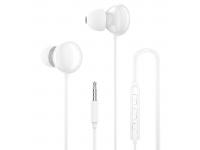 Handsfree Casti In-Ear Dudao X11Pro, Cu microfon, 3.5 mm, Alb, Blister