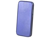Husa Piele OEM Elegance pentru Huawei P40 lite, Bleumarin, Bulk