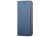 Husa Piele OEM Smart Magnet pentru Samsung Galaxy M21, Bleumarin, Bulk