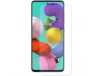 Folie Protectie Ecran Enkay pentru Samsung Galaxy A51 A515, Sticla Securizata, Full Glue, 2.5 D, 9H, Set 2 Bucati, Blister