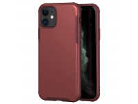 Husa Plastic - TPU OEM Antisoc pentru Apple iPhone 11, Solid Edge, Rosie, Bulk