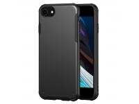 Husa Plastic - TPU OEM Antisoc pentru Apple iPhone 8 / Apple iPhone SE (2020) / Apple iPhone 7, Solid Edge, Neagra, Bulk