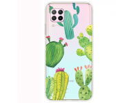 Husa TPU OEM Antisoc pentru Huawei P40 lite, Cactus, Multicolor, Bulk