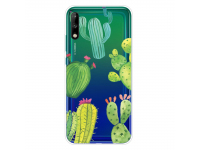 Husa TPU OEM Antisoc pentru Huawei P40 lite E, Cactus, Multicolor, Bulk