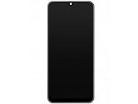 Display - Touchscreen Samsung Galaxy M30s, Cu Rama, Negru GH82-21265A