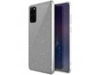 Husa TPU UNIQ LifePro Tinsel Samsung Galaxy S20 Plus G985 / Samsung Galaxy S20 Plus 5G G986, Glitter, Transparenta, Blister