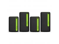 Set 4 x Baterie Externa Powerbank Goui 2 x ECON-10 + 2 x ECON-20, 10000mA / 20000mA, Power Delivery, 2 x USB - USB Type-C, 15W, Neagra, Blister