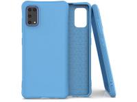 Husa TPU OEM Soft Color pentru Samsung Galaxy A41, Albastra, Bulk
